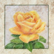 255-02 COLORED PENCIL ON STONE